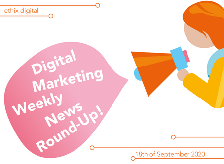 Weekly Digital Marketing News Round-Up | September 18th