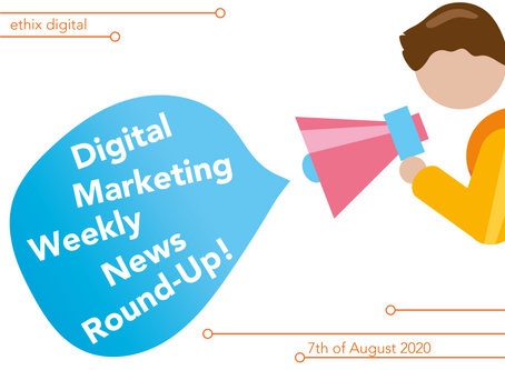Weekly Digital Marketing News Round-Up | August 7th