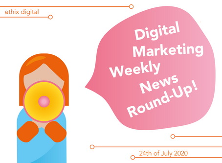 Weekly Digital Marketing News Round-Up | July 24th