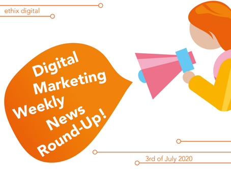 Weekly Digital Marketing News Round-Up | July 3rd