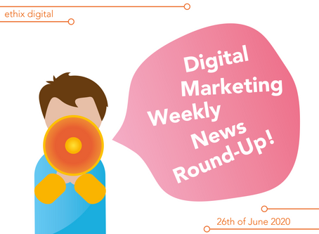 Weekly Digital Marketing News Round-Up | June 26th