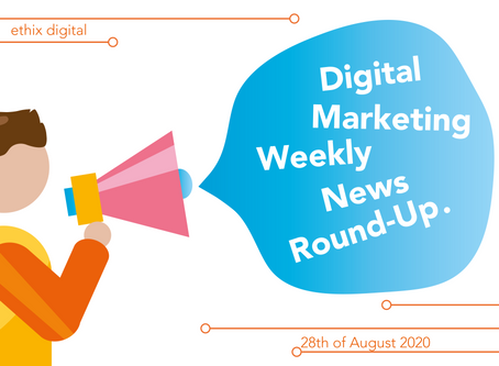 Weekly Digital Marketing News Round-Up | August 28th