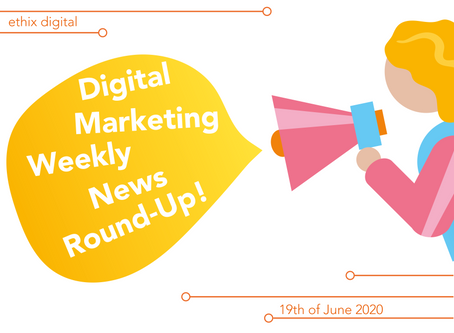 Weekly Digital Marketing News Round-Up | June 19th