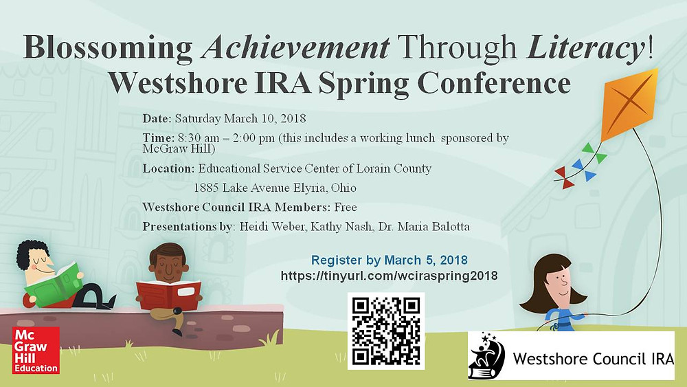 Mark your calendar for Sat. March 10th.  We have listened to your feedback and are bringing Heidi Weber back.  We have also shortened the day and will be working right through lunch.  McGraw-Hill is once again sponsoring our lunch.  Registration is now open.