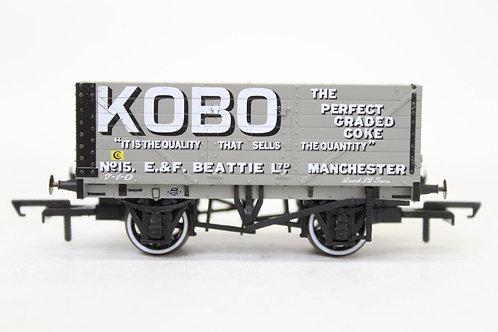 Oxford Rail 7 Plank Open Wagon 'Kobo' No 15 T3