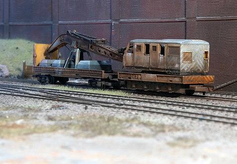 Scrap Derelict Breakdown Crane (B15)