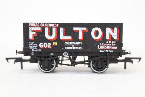 Oxford Rail 7 Plank Open Wagon 'Fulton' 602 T3