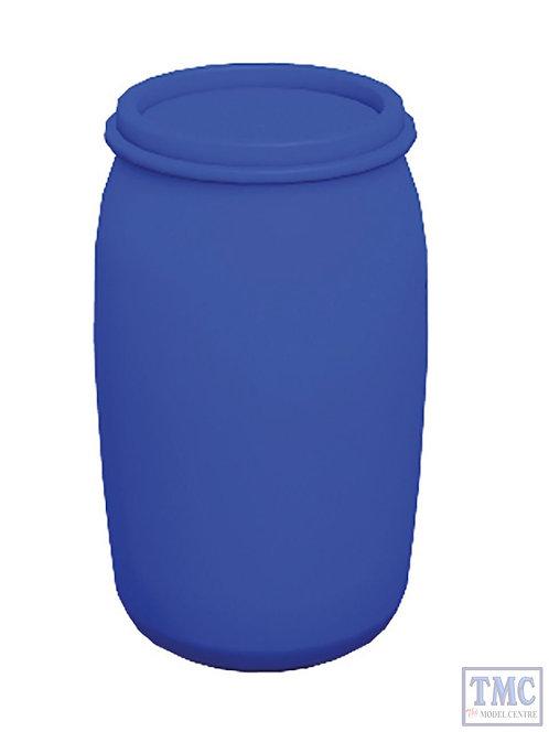 Bachmann 44-526 Chemical Drums Blue (x10)