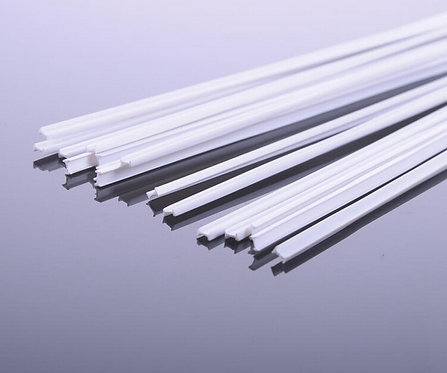 White I Beam Profile 1.5mm by 2mm by 500mm