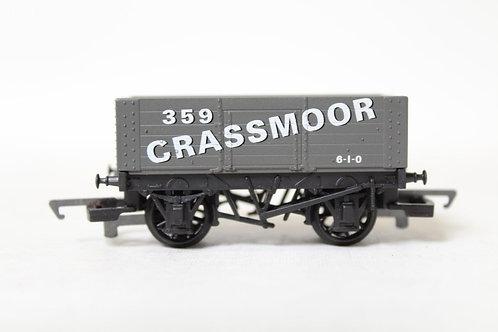 Hornby R128 'Grassmoor' 6 Plank Open Wagon T6