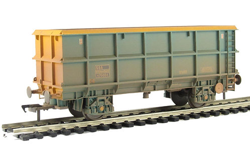 Bachmann 33-435A POA Scrap Wagon Weathered OO Gauge (Q8)