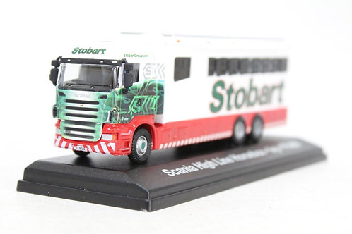 Atlas Oxford Scania High Line Horsebox Polo Team Lorry Z2