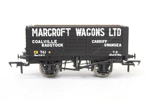 Bachmann 37-100 Open Plank Wagon 'Marcroft' E19