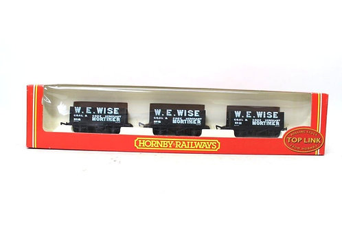 Hornby R6038 'W Wise' Open Coal Wagons (x3) Z3