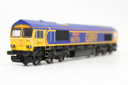 Hornby R3573 Co-Co Class 66 GBRf DCC Ready U5