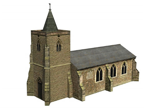 Bachmann 44-0052 Church Building OO Gauge 1/76 B22/3