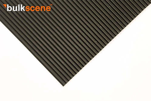 Black 2.5mm Corrugated Metal Sheet Size