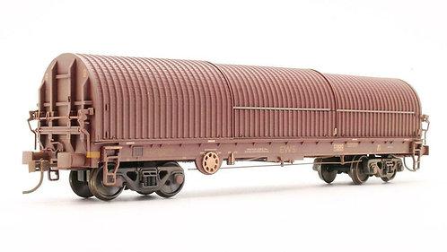Bachmann 37-628 EWS 102T Thrall BRA Steel Strip Carrier Wagon OO 1/76 (Q11)