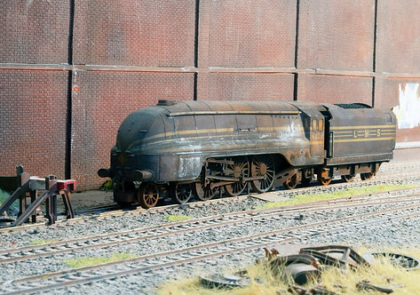 Scrap Coronation Duchess Steam Locomotive (Q17)
