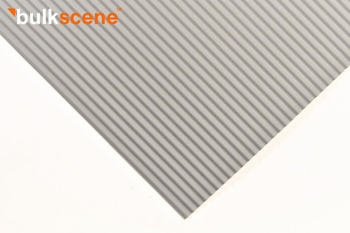 Grey 2.5mm Corrugated Metal Sheet Size