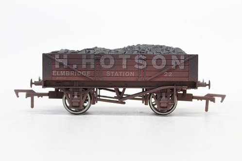 Dapol 'H Hotson' No 22 4 Plank Open Weathered Wagon B5