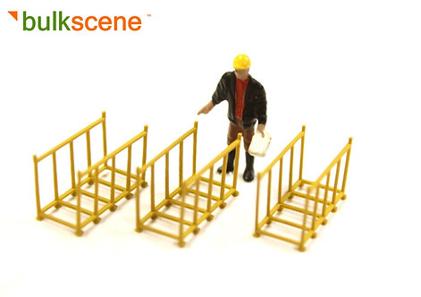 3 x Yellow Frame Cage for spacer posts