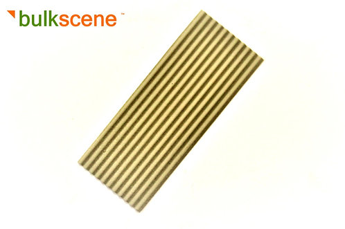 40 x 15mm 'Asbestos/Concrete' 1.2mm Corrugated Metal Panel