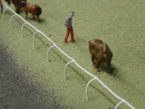 OO Horse Racing Fence x 4