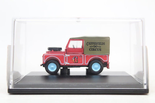 "Oxford Chipperfield Circus Land Rover 88"" Canvas Top M14"