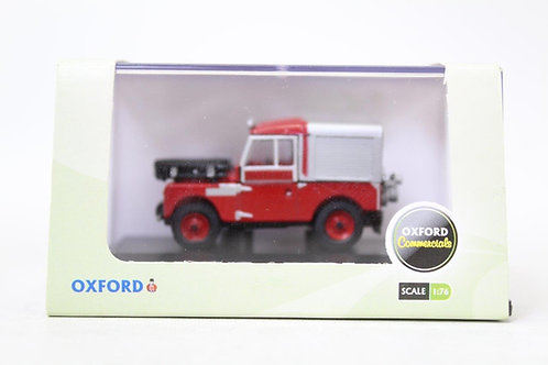 """Oxford Red Land Rover 88"""" Fire U8"""