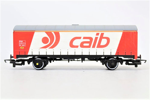 Hornby R.097 'CAIB' Curtain Sided Freight Van Wagon (PVA) N21