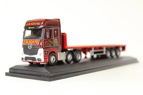 Oxford J R Adams Mercedes Flat Bed Lorry E3
