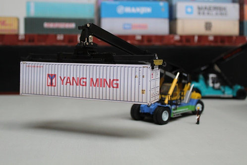 Yang Ming Weathered 40ft Card Container