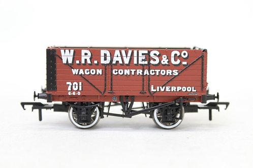 Bachmann 37-2011K 7 Plank Open Wagon 'W R Davies & Co' E19