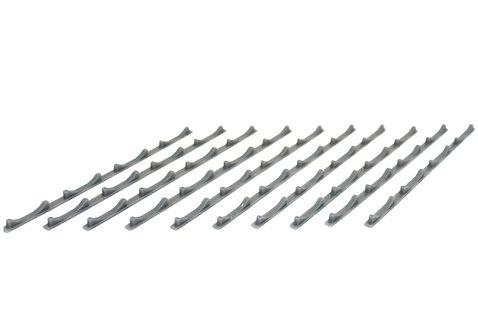 Unpainted Steel Coil Floor Seat Strips (x10)