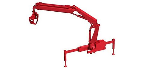 Herpa Hiab Log Loading Crane Attachment HO 1/87 (C9)