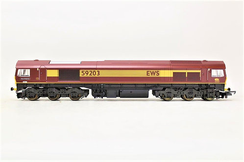 Lima L204674 Diesel Locomotive EWS Class 59203 OO Gauge 1/76 Y5