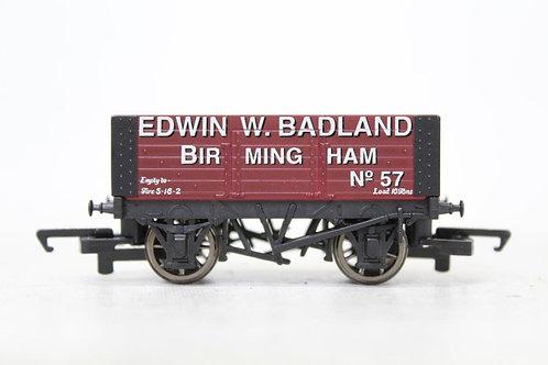 Hornby 'Edwin W. Badland' 5 Plank Wagon B2