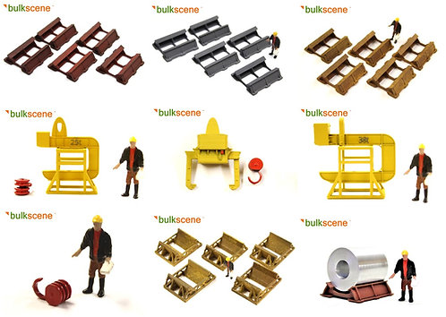 Bulkscene Steel Coil Handling Set - Full Pack