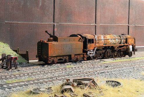 Scrap BR 9F 2-10-0 Steam Locomotive (Q18)
