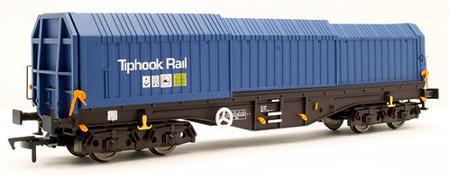 Dapol 4F-039-007 TELESCOPIC HOOD WAGON TIPHOOK RAIL STEEL WAGON L17