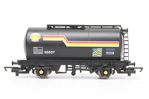 Hornby R6044 Black 'Shell' Oil Tank Wagon Y4