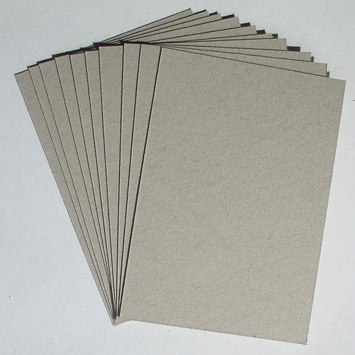 1mm grey card A4 sheet