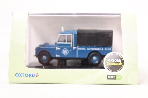 "Oxford Land Rover 'RAC' 109"" Canvas Top U8"