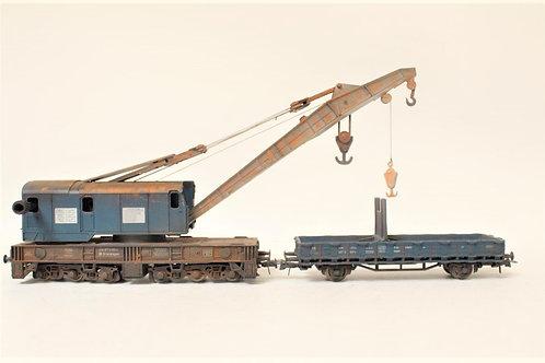 Roco Crane Weathered Model HO Gauge 1/87 P1