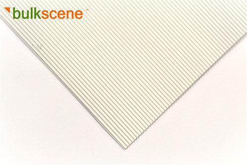 White 1.2mm Corrugated Metal Sheet Sizes