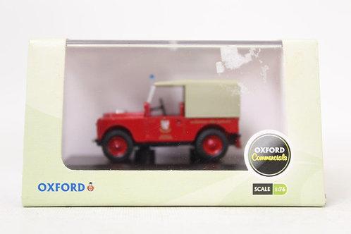Oxford Land Rover 'Somerset' Fire Brigade U8