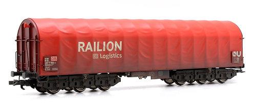 Liliput L235774 Railon Steel Wagon Weathered (O17)
