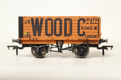 Bachmann 37-080 'JR Wood' 7 Plank Open Coal Wagon B1