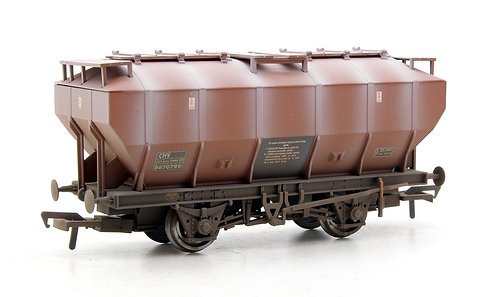 Bachmann 38-500A Covered Hopper Bauxite Wagon Weathered (Q7)
